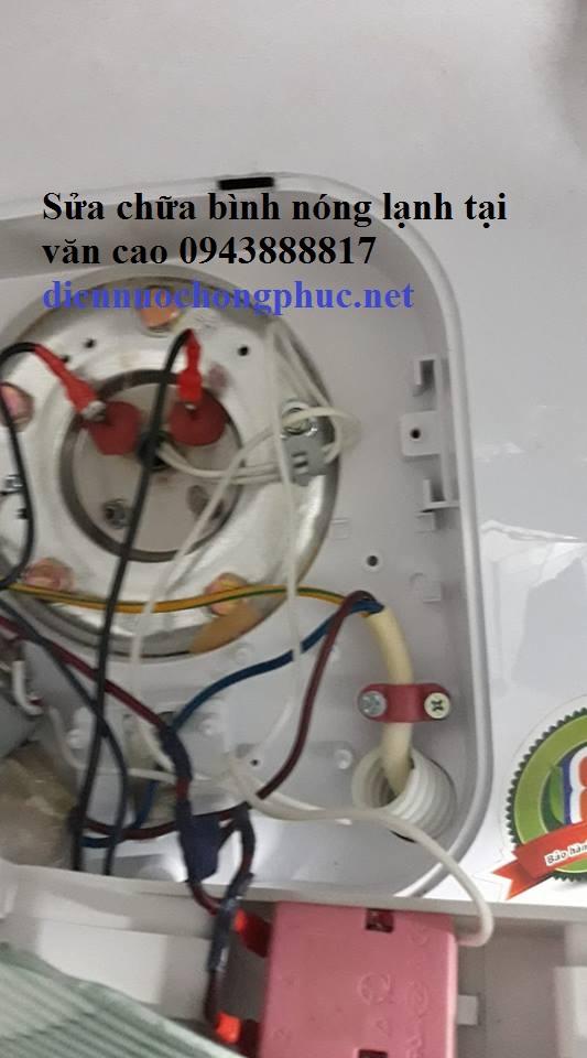Sửa chữa bình nóng lạnh tại Văn Cao chất lượng 094 388 8817