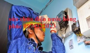 Sửa chữa điện nước tại xã Đức Thượng HOTLIEN:0974222023