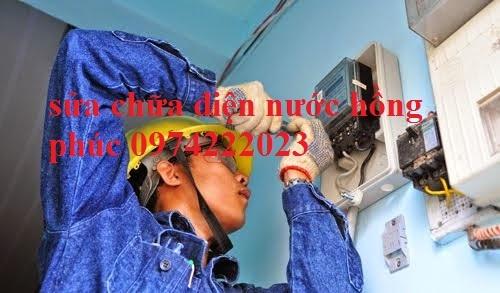 Sửa chữa điện nước tại vĩnh hồ rẻ nhất 0943888817