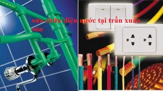 Sửa chữa điện nước tại Trần Xuân Soạn rẻ nhất 0943888817