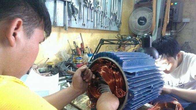 Sửa máy bơm nước tại chùa Hà rẻ nhất hotlien: 0943888817