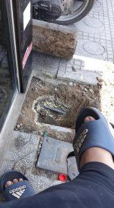 Sửa chữa đường ống nước tại Đường Láng ( 0943888817)