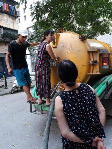 Hút bể phốt tại Huyện Sông Công